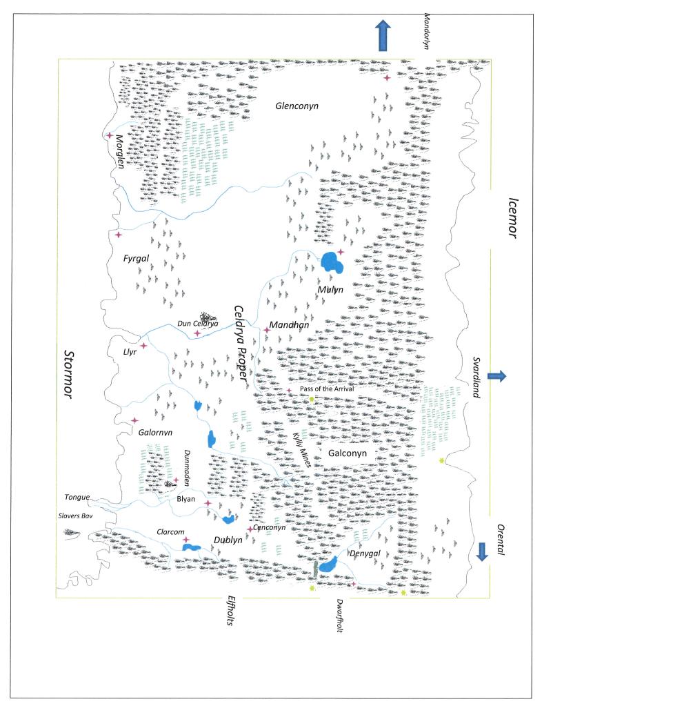 Map of Celdrya for Publication