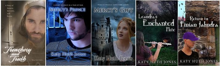 Katy Books top row