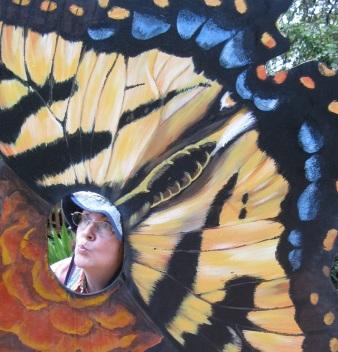 Katy Butterfly lady
