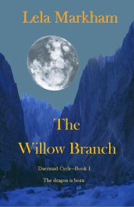 Willow Branch Blue White Recreation Cover