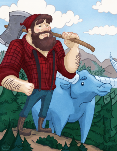 Image result for image of paul bunyan