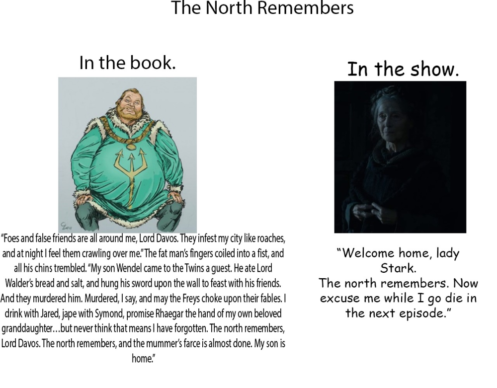 GoT North Remembers