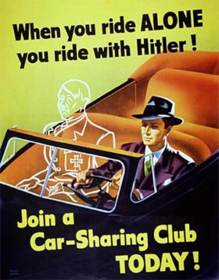 Propaganda Ride Sharing